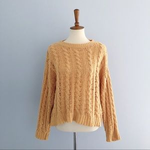 American Eagle Chenille Knit Sweater Size Medium
